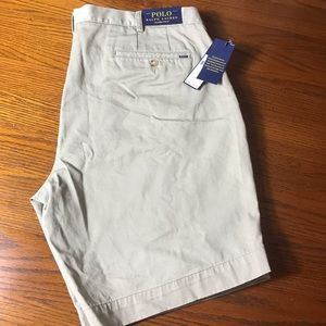 NWT Polo by Ralph Lauren Classic Fit Chino Shorts